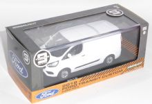 Ford Transit Custom V362 Frozen White Collectors Model Scale 1/43 51275 P
